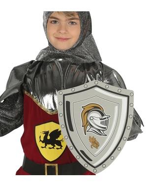Keskiaikainen EVA -kilpi lapsille 29 cm