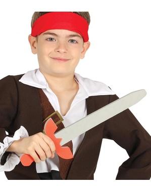 Épée pirate en mousse EVA 53 cm enfant
