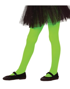 Kids's green tights