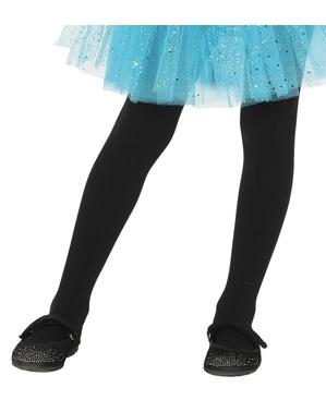 Kids's black tights