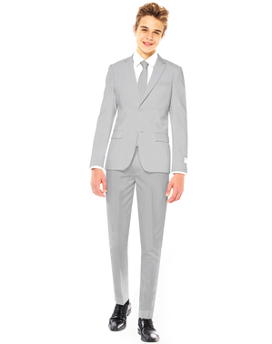 Grey Suit for kids - Opposuits