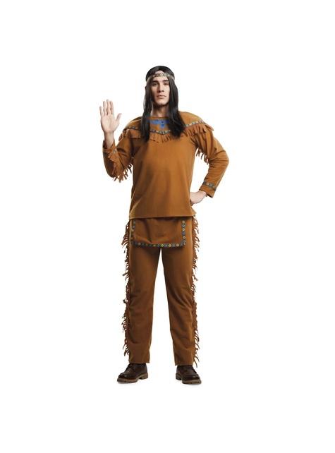 Disfraz de indio amable para hombre