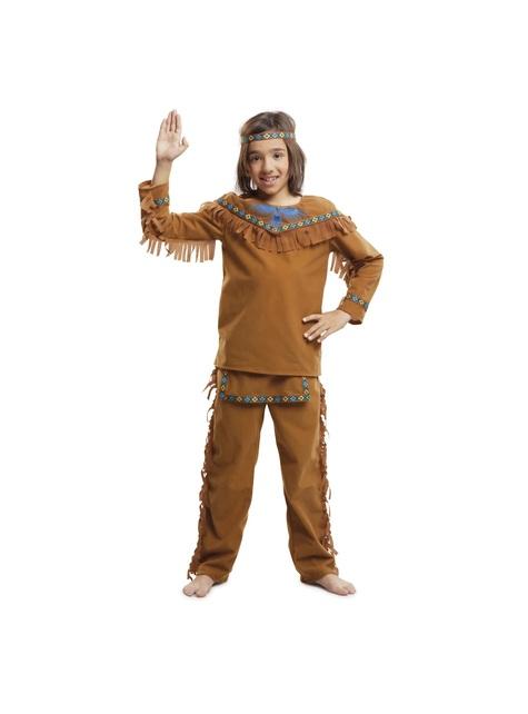 Disfraz de indio amable para niño