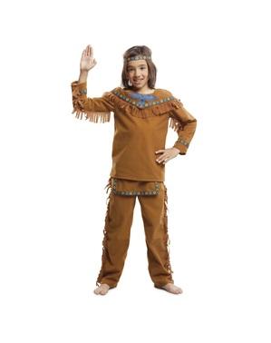 Vriendelijk Indianen kostuum voor jongens