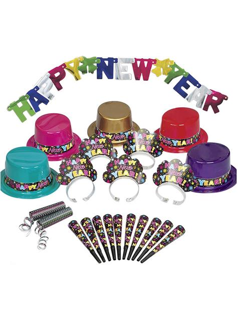 קיט המפלגה עבור 10 אנשים - Happy New Year