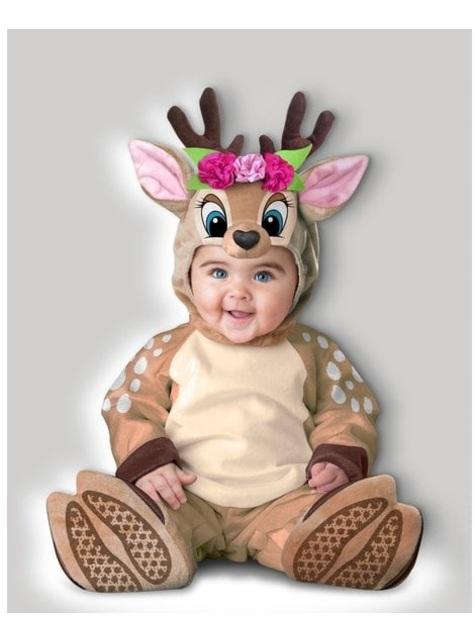 Disfraz de reno para bebé niña