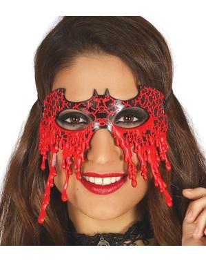 Maschera da pipistrello sanguinoso