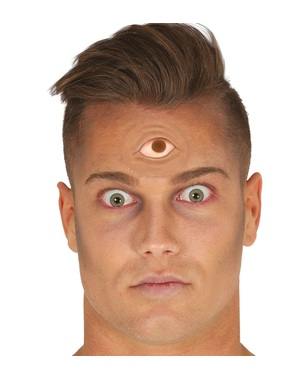 Prothèse troisième œil en latex