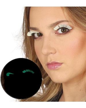 Fluoreszkáló szempillák nők számára
