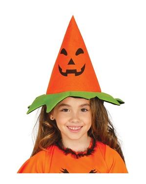 Klassieke pompoen hoed voor kinderen