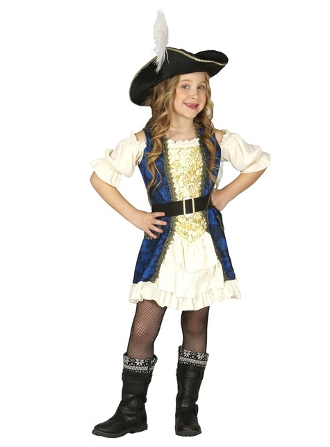 Girls Piratess Deluxe Costume