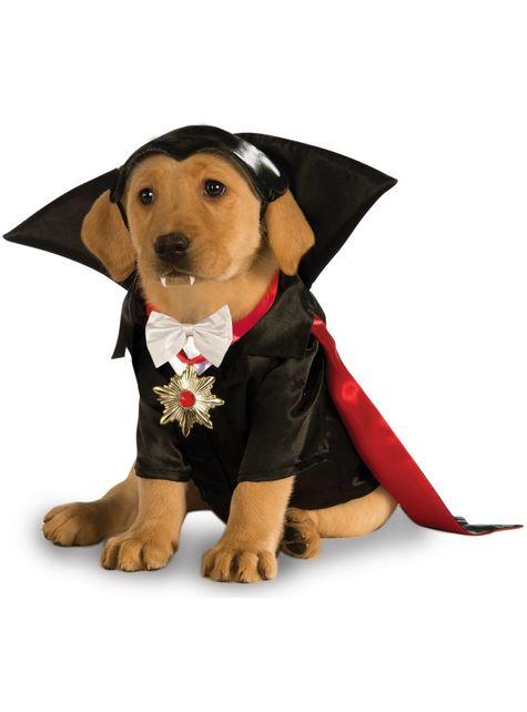 Disfraz de Drácula Universal Studios Monsters para perro