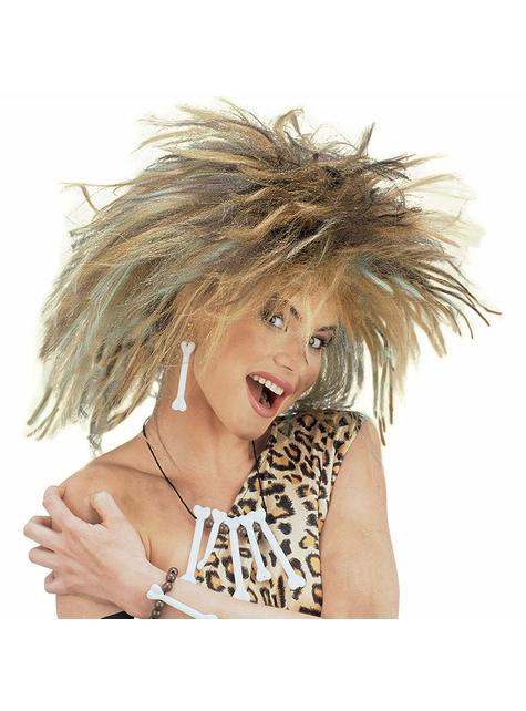Caveman wig for women