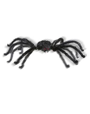 Jättikokoinen hämähäkki valaistuilla silmillä ja äänellä