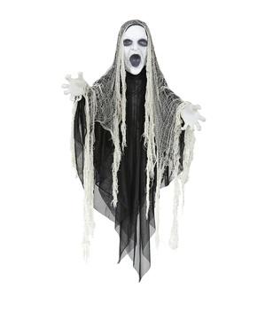 Κρεμασμένο άσπρο φάντασμα