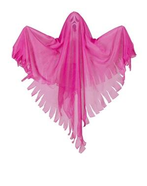 Závěsná dekorace neonově růžový duch