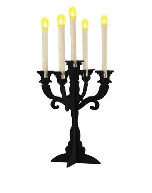 Weiße Kerzen mit Led Licht