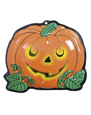3D Glow-in-the-dark Decorative Pumpkin