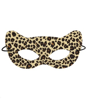 Škraboška pro dospělé leopard