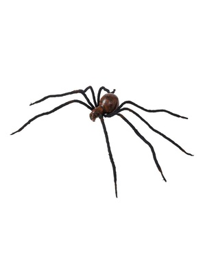 86cm Red Toned Malleable Spider