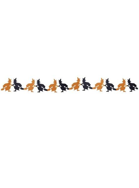 Grinalda de bruxas voadoras