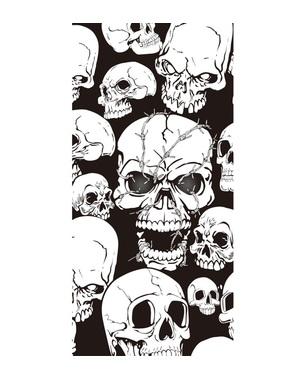 Killer skulls door decoration
