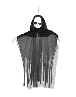 Hängande figur spöke med ljus
