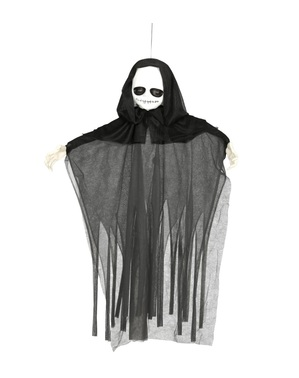 Hengende spøkelses figur med lys