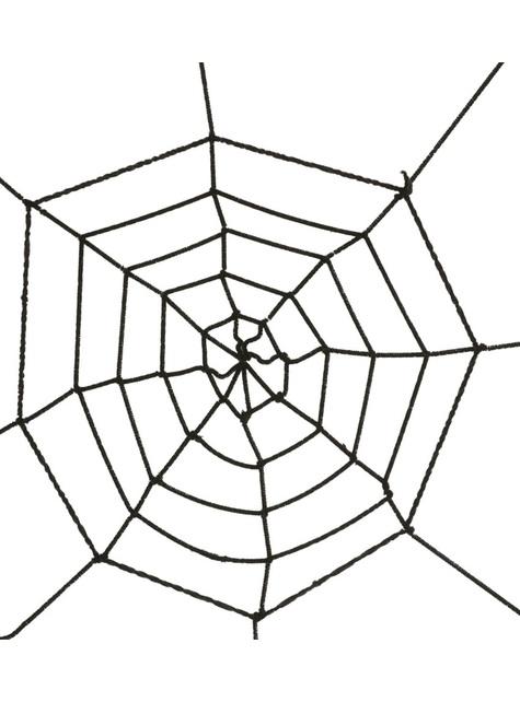 Teia de Aranha preta de 60 cm