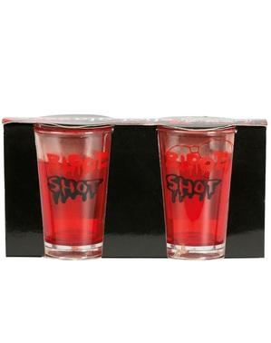 2 véres lövés pohár