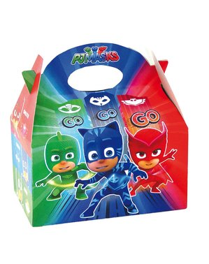 Set 4 kotak parti PJ Masks