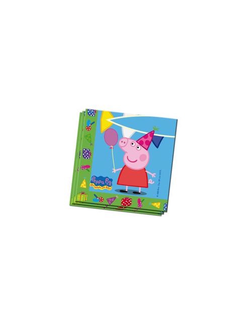 20 מפיות Peppa חזיר (33x33 ס