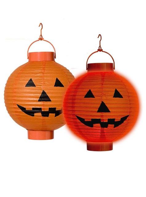 Light-up Pumpkin Lantern