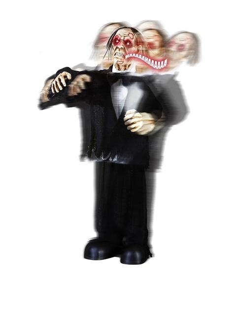 Dekoracja Pan Młody Zombie