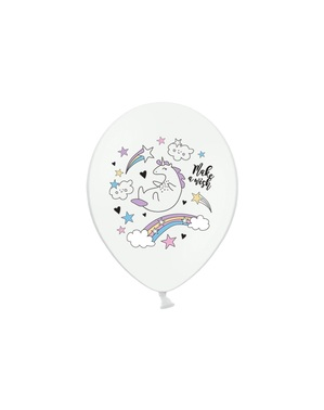 6 balony lateksowe Jednorożec (30cm) - Unicorn Collection