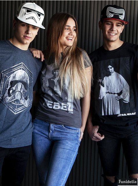 T-shirt Star Wars portrait Leia