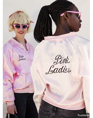 Ladies Pink Jacket - pakaian Grease