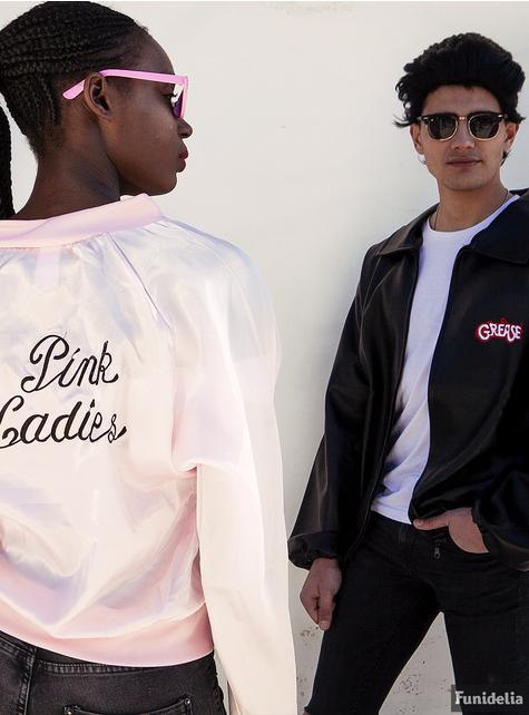 Kurtka Pink Ladies Grease dla kobiet