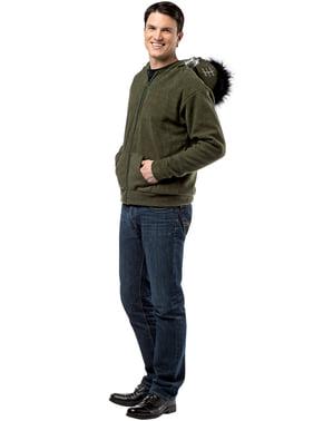 Frankenstein trui met capuchon voor volwassenen