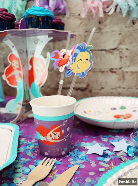 8 gobelets  de La Petite Sirène - Ariel Under the Sea