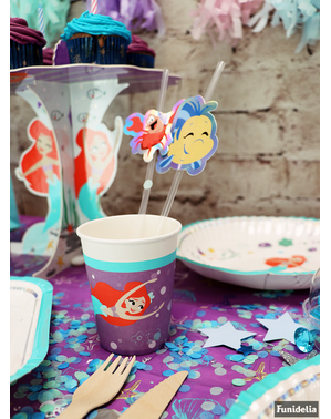 8 The Little Mermaid Cups - Ariel Under the Sea