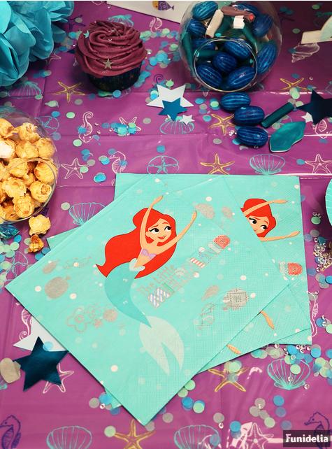20 Pieni Merenneito -Pöytäliinaa – Ariel Under the Sea