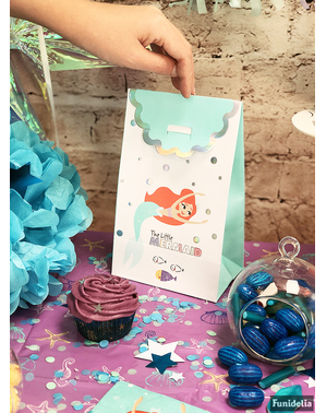 Set od 4 male sirene Party Bags - Ariel ispod mora
