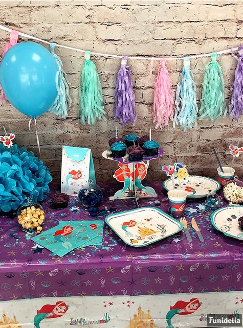 18 cubiertos azules pastel de madera - Dusty Blue