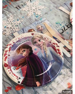 8 piatti Frozen 2 (23 cm)