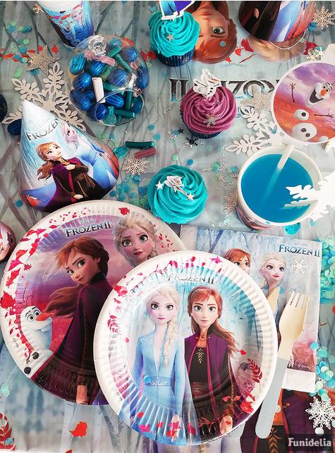 8 pratos Frozen 2 (23 cm)