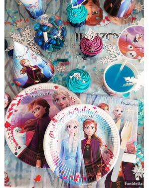 8 piatti Frozen 2 (20cm)