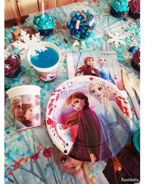 8 pahare Regatul de gheață 2 (Frozen) de hârtie (20 cl)