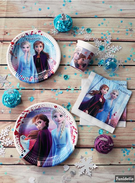 20 guardanapos Frozen 2 (33 cm)