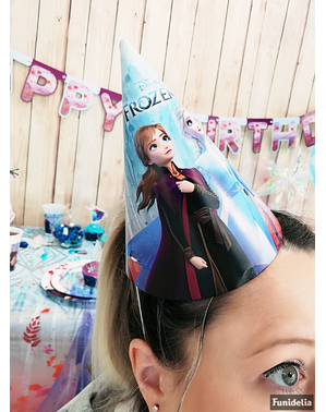 6 Frozen 2 Party Hats
